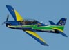 Embraer EMB-312 (T-27 Tucano) da Esquadrilha da Fumaça.
