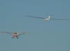 Aero Boero AB-180, PP-GNR, do Aeroclube de Rio Claro, rebocando o planador PZL-Bielsko SZD-48-3 Jantar Standard 3, PT-PLY.