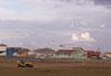 Rasante do outro planador Jantar 3.