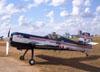 Sukhoi SU-26, PT-ZSK, de Cesar Albuquerque, logo após o corte do motor.