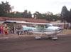 Cessna 172D Skyhawk do Aero-clube de Rio Claro.