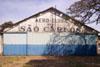 Hangar do antigo Aero-clube de São Carlos.