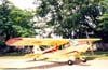 Neiva P56-C-1 Paulistinha, PP-HRJ, do Aeroclube de São Carlos. (2000) Foto: Diego Fernandes.