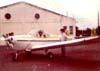 O Erco 415C Ercoupe do Paulo Blota, atual presidente do Aeroclube de São Carlos. (Foto feita na década de 1970) Foto: Paulo Blota.