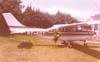 Cessna 210L Centurion II, PT-KDT. (12/1982) Foto: Fernando Sarracini.