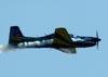 Embraer EMB-312 (T-27 Tucano), número 7, FAB 1371, da Esquadrilha da Fumaça. (14/08/2011)