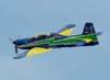 Última passagem do Embraer T-27 Tucano número 7 da Esquadrilha da Fumaça, pilotado pelo Major Aviador Afonso Henrique.