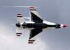 Lockheed F-16DJ Fighting Falcon dos Thunderbirds. (16/04/2010) Foto: Celia Passerani.