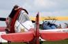 North American T-6C Texan, N991GM, do Aeroshell Aerobatic Team. (16/04/2010) Foto: Celia Passerani.