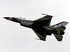Lockheed F-16DJ Fighting Falcon, número 6, dos Thunderbirds. (16/04/2010) Foto: Celia Passerani.