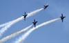 McDonnell Douglas F/A-18 Hornet do U. S. Navy (Blue Angels). (01/04/2011) Foto: Celia Passerani.