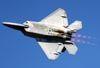 Lockheed Martin F-22 Raptor, da USAF (Força Aérea dos Estados Unidos). (01/04/2011) Foto: Celia Passerani.