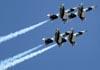Os Aero Vodochody L-39 Albatros do Heavy Metal Jet Team. (02/04/2011) Foto: Celia Passerani.