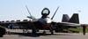 Lockheed Martin F-22 Raptor, da USAF (Força Aérea dos Estados Unidos). (02/04/2011) Foto: Celia Passerani.