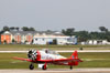 North American T-6G Texan, N7462C, do Aeroshell Aerobatic Team. (29/03/2012) Foto: Celia Passerani.