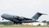 McDonnell Douglas C-17A Globemaster III, 02-1111, da USAF (Força Aérea dos Estados Unidos). (29/03/2012) Foto: Celia Passerani.
