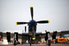 "North American TF-51D Mustang, NL851D (Chamado ""Crazy Horse""). (30/03/2012) Foto: Nicole Passerani."