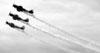 Os Yakovlev Yak-52TW do Team Aerostar. (09/04/2013) Foto: Celia Passerani.
