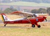 Aero Boero AB-180, PP-GEG, do Aeroclube de Tatuí. (14/08/2010) Foto: Ricardo Frutuoso.