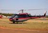 Eurocopter/Helibras AS-350B3 Esquilo, PR-HDP, da Dimep Sistemas. (14/08/2010) Foto: Ricardo Frutuoso.