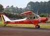 Aero Boero AB-180, PP-GEG, do Aeroclube de Tatuí. (08/05/2010) Foto: Ricardo Frutuoso.