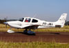 Cirrus SR22 GTS, PR-JMA. (04/08/2012) Foto: Ricardo Frutuoso.