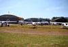 Aeronaves estacionadas. (04/08/2012) Foto: Ricardo Frutuoso.