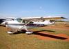 Cessna 182D Skylane, PT-BLN. (04/08/2012) Foto: Ricardo Frutuoso.