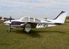 Beechcraft 95-B55 Baron, PT-IEU. (10/08/2013) Foto: Ricardo Frutuoso.