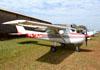 Cessna 150M, PR-TAW, do Aeroclube de Sorocaba. (10/08/2013) Foto: Ricardo Frutuoso.