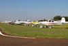 Aeronaves estacionadas. (10/08/2013) Foto: Ricardo Rizzo Correia.