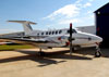 Beechcraft King Air B200, PR-LBJ. (10/08/2013) Foto: Ricardo Rizzo Correia.