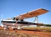 Cessna 172, PT-AZQ. (15/08/2009) Foto: Ricardo Frutuoso.