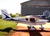 Ultravia/Flyer Pelican 500BR, PU-DCA. (15/08/2009) Foto: Ricardo Frutuoso.