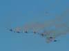T-27 Tucanos da Esquadrilha da Fumaça voando na direção de uma pipa. (01/07/2007)