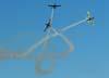 T-27 Tucanos 5, 6 e 7 da Esquadrilha da Fumaça realizando um split. (01/07/2007)